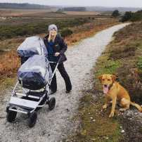 Walking with Mountain Buggy